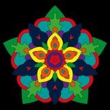 Modelo floral abstracto Fotografía de archivo libre de regalías