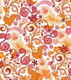 Modelo floral abstracto Imagenes de archivo