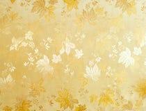 Modelo floral abstracto de la tela Fotografía de archivo