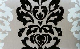 Modelo floral abstracto de la tela Fotos de archivo libres de regalías