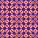 Modelo floral brillante Textura inconsútil del vector Plantilla elegante para las impresiones de la moda ultravioleta Fotos de archivo