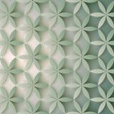 Modelo floral 3d Flores abstractas con las sombras Textura elegante, fondo del vector Diseño de moda colorido para la impresión Fotografía de archivo libre de regalías