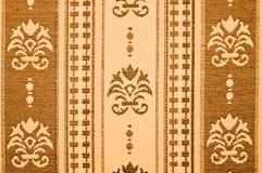 Modelo floral de la materia textil Fotografía de archivo