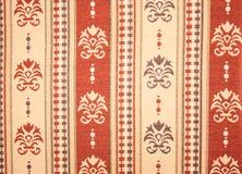 Modelo floral de la materia textil Fotos de archivo