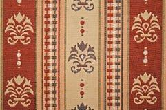 Modelo floral de la materia textil Fotografía de archivo libre de regalías