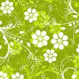 Modelo floral decorativo del vector Imagen de archivo libre de regalías