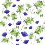 Modelo floral del vector imagenes de archivo