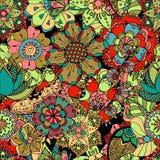 Modelo floral inconsútil Imagen de archivo