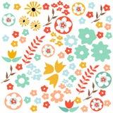 Modelo floral inconsútil ilustración del vector