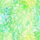 Modelo floral inconsútil de la pendiente del grunge Imagen de archivo libre de regalías