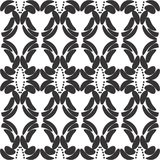 Modelo floral inconsútil de la vendimia Ilustración del vector fotos de archivo libres de regalías