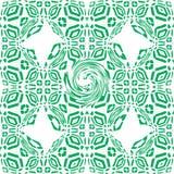 Modelo floral inconsútil de la vendimia Ilustración del vector imagenes de archivo
