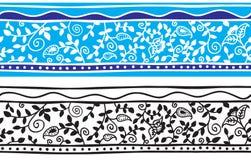 Modelo floral inconsútil del fondo - estilo indio ilustración del vector