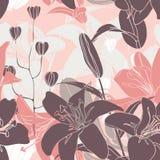 Modelo floral inconsútil del vector Imagen de archivo
