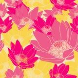 Modelo floral inconsútil del vector Imágenes de archivo libres de regalías