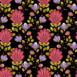 Modelo floral inconsútil del vector Imagen de archivo libre de regalías