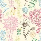Modelo floral inconsútil romántico Imagenes de archivo