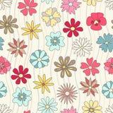Modelo floral inconsútil Foto de archivo libre de regalías