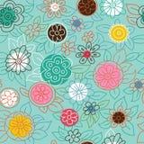 Modelo floral moderno Libre Illustration