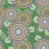Modelo floral multicolor inconsútil Foto de archivo libre de regalías