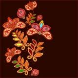 Modelo floral oriental Ilustración Libre Illustration