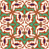 Modelo floral para su diseño Ornamento inconsútil del ï del ¿del otomano turco tradicional del ½ Iznik ilustración del vector