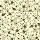 Modelo floral, vector Imágenes de archivo libres de regalías