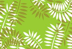 Modelo floral verde stock de ilustración