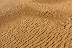 Modelo, fondo, Coral Pink Sand Dunes, Utah, los E.E.U.U. Fotografía de archivo libre de regalías