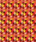 Modelo/fondo triangulares geométricos inconsútiles Foto de archivo libre de regalías