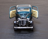 Modelo Ford Coupe do brinquedo da escala Fotos de Stock Royalty Free