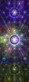 Modelo galáctico Imagenes de archivo