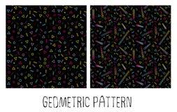 Modelo geométrico abstracto Fotos de archivo libres de regalías