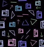 Modelo geom?trico abstracto brillante del arte Fondo ?tnico del inconformista libre illustration