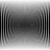 Modelo geométrico abstracto con la distorsión exprimir-comprimida e libre illustration