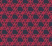 Modelo geométrico abstracto con los triángulos y las líneas - vector eps8 Imagenes de archivo
