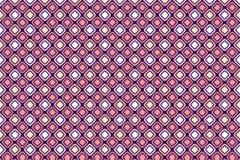 Modelo geométrico abstracto de la forma con color en colores pastel rosado Foto de archivo libre de regalías