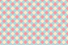 Modelo geométrico abstracto de la forma con color en colores pastel rosado Foto de archivo