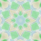 Modelo geométrico abstracto de las tejas Imágenes de archivo libres de regalías