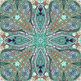 Modelo geométrico abstracto de Paisley Fotos de archivo libres de regalías