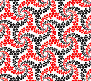 Modelo geométrico abstracto de Seamlees Imagen de archivo libre de regalías