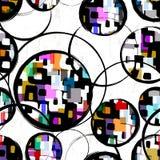Modelo geométrico abstracto del fondo libre illustration