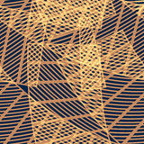 Modelo geométrico abstracto inconsútil Fotos de archivo
