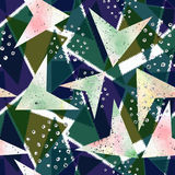 Modelo geométrico abstracto inconsútil Imagen de archivo
