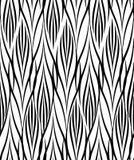 Modelo geométrico abstracto Línea inconsútil orname blanco y negro ilustración del vector