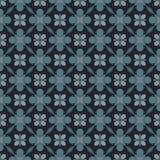 Modelo geométrico antiguo en la repetición Impresión de la tela Fondo inconsútil, ornamento del mosaico, estilo étnico Foto de archivo