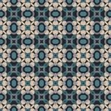 Modelo geométrico antiguo en la repetición Impresión de la tela Fondo inconsútil, ornamento del mosaico, estilo étnico Imagenes de archivo