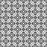 Modelo geométrico blanco y negro inconsútil Fotos de archivo libres de regalías