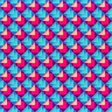 Modelo geométrico brillante abstracto stock de ilustración