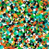 Modelo geométrico colorido Foto de archivo